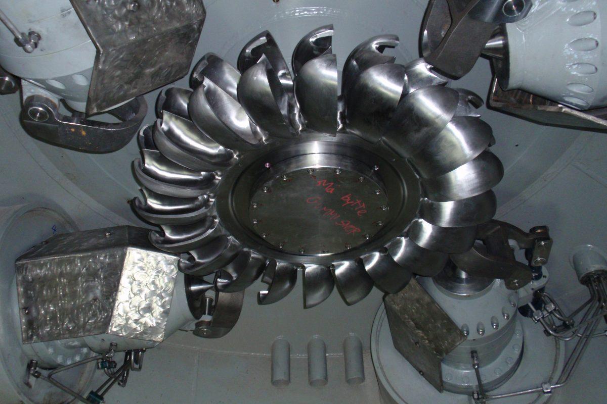 Rottenvik turbin